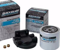 Quicksilver Water Separating Fuel Filter & Housing Kit for Mercury Outboard
