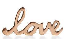 Home Design Studio Love Decorative Accent Bronze