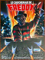Plakat Le Nightmare - Freddy Nightmare Sur Elm Street 4 Robert Englund 40x60cm