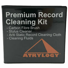 Vinyl Record Cleaner Kit with Cleaning Cloth and record and stylus cleaner