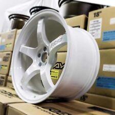 "18"" 18x9.5 +38 Rays Gram Lights 57cr White Pearl Wheels Subaru BRZ WRX FR-S"