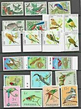 More details for birds thematic stamp collection c1960s-90s unmounted mint or vfu gabon re:tt755
