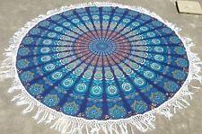 Indian Round Mandala Tapestry Wall Hanging Throw Towel Beach Yoga Mat Decor Boho