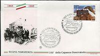 ITALY 1993 REGINA MARGHERITA OBSERVATORY CENT/MOUNTAIN HUT/MONTE ROSA/ALPS FDC