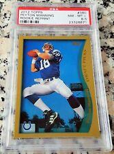 PEYTON MANNING 2012 Topps Reprint 1998 Rookie Card RC PSA 8.5 Broncos Colts HOF