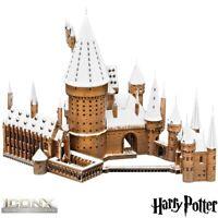 Metal Earth ICONX Harry Potter Hogwarts Castle in Snow 3D DIY Model Building Kit