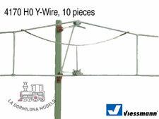 VIESSMANN 4170 H0 Y-Wire, 10 pieces / Y - Alambre, 10 piezas - NUEVO (c28)