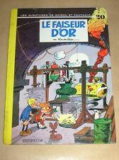 BD / SPIROU & FANTASIO 20 / LE FAISEUR D'OR / DOS ROND / EO 1970 / TR B ETAT