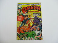 Omega The Unknown # 1 Marvel Comics Bronze Age Superhero 1975