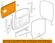 VW VOLKSWAGEN OEM 99-06 Golf Front Door-Exterior Panel Right 1K4831106G