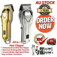 Professional Hair Clipper/Trimmer/Cordless/Rechargeable/Men Beard Hair Trimmers