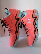NWOB New Under Armour Micro G Charge Volt Low Orange Blue Shoes Men Size 13.5
