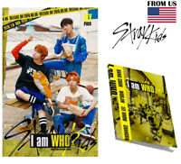 I am WHO 2nd Album STRAY KIDS [WHO ver] Music CD+Booklet+Photocard+Lyrics Poster