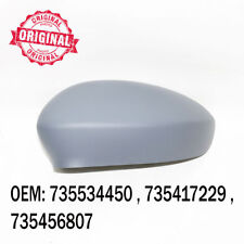Left Side Wing Mirror Cover Cap Casing Primed For Fiat Grande Punto EVO Linea