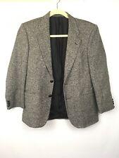 Marks And Spencer Womens Black, White Blazer Coat Jacket Size 38S A1516