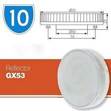10x 7W GX53 lampadine LED Cool White Luce Diurna Armadietto sostituire le tradizionali lampade CFL