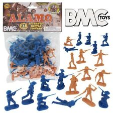 BMC Toys 1/32nd Plastic Alamo Figures Set Mexicans Texicans NEW in Bag!