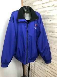 Salt Lake 2002 Olympic Games Memorabilia Zip Up Jacket XL