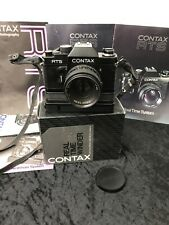 Contax RTS + Carl Zeiss Planar 1,4/50 T* Mit CONTAX REAL TIME WINDER