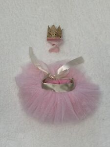 Toby & Me Pink Tutu Crown Headband Birthday Costume