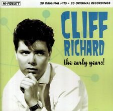 CD - Cliff Richard - The Early Years - 20 Original Hits - High-Fidelity