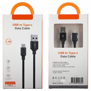 Type-C USB Kabel Ladekabel Datenkabel für Android 1.2m 120cm XSS-BRAIDED1M
