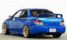 1/18 Subaru Impreza WRX STI S204 blue Modified tuning bbs umbau Otto