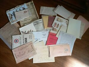 Large collection of Reproduction WWI Ephemera for WWI Re-Enactment or Display