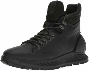ECCO Exostrike Hydromax Hiking Boot Black Size 45