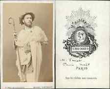 Varet, acteur vintage CDV albumen carte de visite,  CDV, tirage albuminé, 6 x
