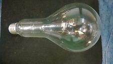 300 watt  INCANDESCENT LIGHT BULB PS30 300Ml 130V standard base E26  Case of 60