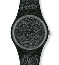 "SWATCH GENT ""TIME NEVER DIES BLACK"" (GM180) NEU, SELTEN"