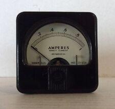Vintage Marion Electronics Ampersand Meter Gauge Electronics Test Steampunk