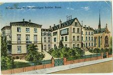 Alte Ansichtskarte Postkarte Bonn Krankenhaus der barmh.Brüder 1929 farbig