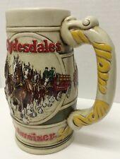 BUDWEISER ANHEUSER BUSCH BEER STEIN Mug 1983 Clydesdales Horses #49 CS58