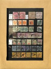 [OP4005] Great Britain lot of stamps on 10 pages