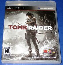 Tomb Raider PlayStation 3 *Brand New! (Torn Cellophane) *Free Shipping!