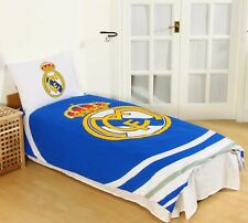 New REAL MADRID F.C. Football Club Official Single Duvet Quilt Cover Set Boys