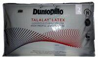 Dunlopillo-2 Pack -Latex Luxurious Classic Pillow High Profile & Medium  Feel