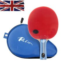 Palio 2 Star Expert Table Tennis Bat With CJ8000 rubbers & case Top Seller UK