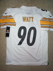 *IRREGULAR* Steelers TJ WATT nfl NIKE Jersey YOUTH KIDS BOYS (L-LG-LARGE)