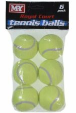 Tennis Balls | Pack Of 6 Balls | Royal Court | Dog Pets Toy Outdoor Sports Game