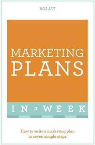 Marketing Plans In A Week Paperback Book