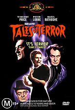 Vincent Price Peter Lorre TALES OF TERROR - ROGER CORMAN HORROR TRILOGY DVD