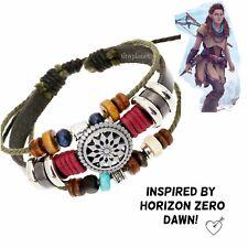 Horizon Zero Dawn Aloy Nora Tribal Inspired Bracelet Gaming Jewelry Handmade