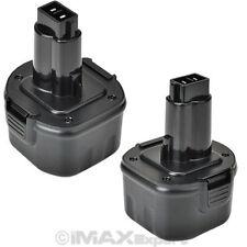 2 NEW 9.6V Battery for DEWALT 9.6 VOLT Cordless Drill