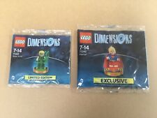LEGO Dimensions Supergirl 71340 + Green Arrow 71342 RARE Limited Edition Figures