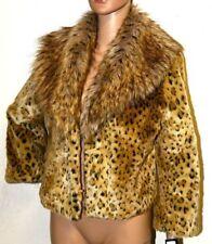 267bebb4de Faux Fur Animal Print Coats