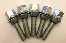 M12X1.5 X 5 40 mm Hilo Wobbly Pernos de rueda de aleación de corrección PCD AUDI 57.1