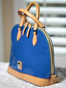 Dooney & Bourke Ladies Purse, Blue Patent Leather